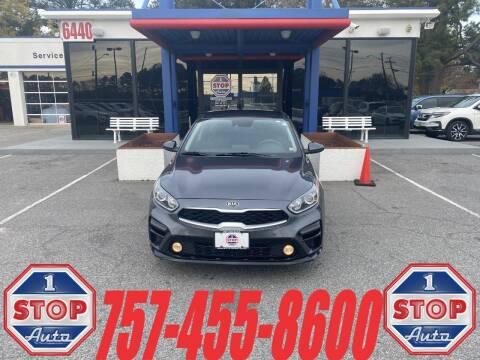 2019 Kia Forte for sale at 1 Stop Auto in Norfolk VA