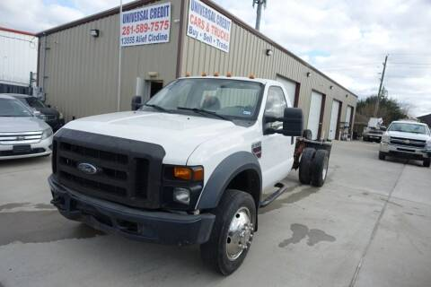 2009 Ford F-550 Super Duty for sale at Universal Credit in Houston TX
