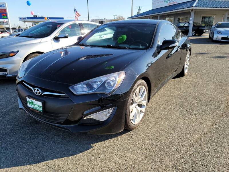 2015 Hyundai Genesis Coupe for sale at Artistic Auto Group, LLC in Kennewick WA