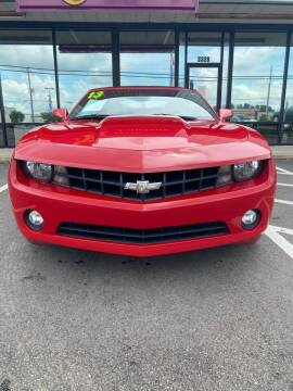 2013 Chevrolet Camaro for sale at East Carolina Auto Exchange in Greenville NC