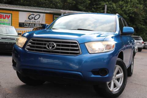 2009 Toyota Highlander for sale at Go Auto Sales in Gainesville GA
