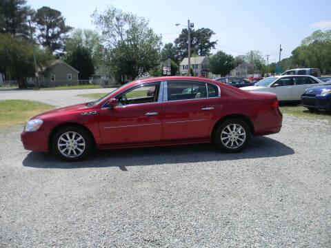 2010 Buick Lucerne for sale at SeaCrest Sales, LLC in Elizabeth City NC