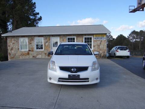 2012 Nissan Sentra for sale at Flywheel Auto Sales Inc in Woodstock GA