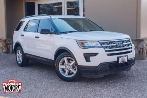 2019 Ford Explorer for sale at Mcandrew Motors in Arlington TX