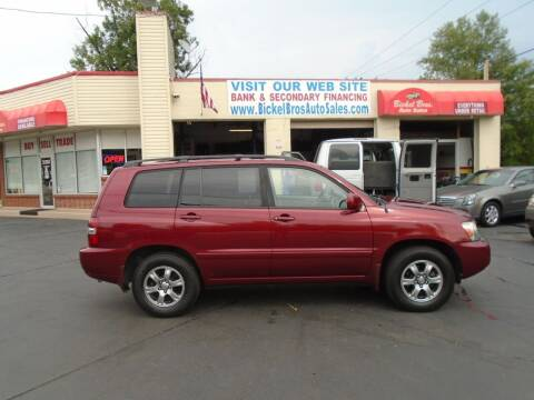 2006 Toyota Highlander for sale at Bickel Bros Auto Sales, Inc in Louisville KY