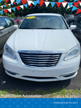 2012 Chrysler 200 for sale at Right Choice Automotive in Rochester NY