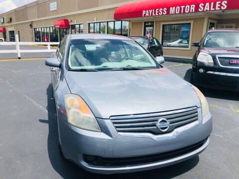 2008 Nissan Altima for sale at Payless Motor Sales LLC in Burlington NC