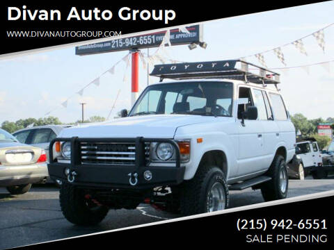 1981 Toyota Land Cruiser for sale at Divan Auto Group in Feasterville PA