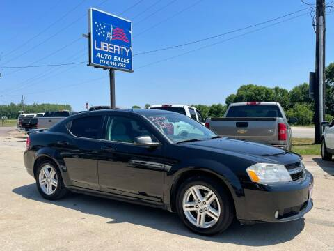 2008 Dodge Avenger for sale at Liberty Auto Sales in Merrill IA