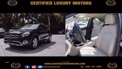 2018 Mercedes-Benz GLA for sale at Certified Luxury Motors in Great Neck NY
