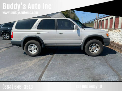 1998 Toyota 4Runner for sale at Buddy's Auto Inc in Pendleton, SC