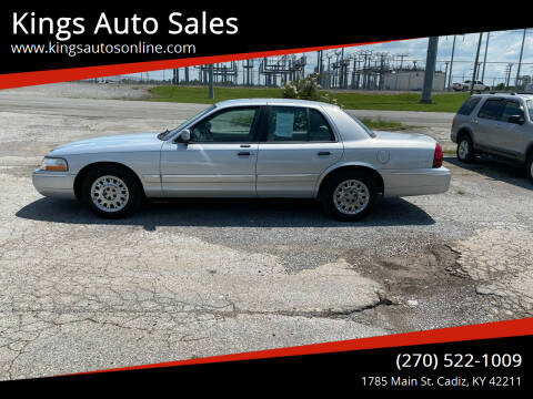 2003 Mercury Grand Marquis for sale at Kings Auto Sales in Cadiz KY