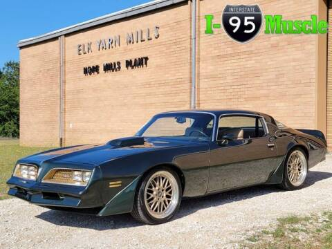 1980 Pontiac Firebird for sale at I-95 Muscle in Hope Mills NC