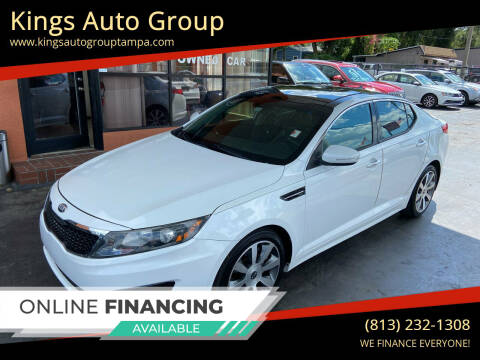 2013 Kia Optima for sale at Kings Auto Group in Tampa FL