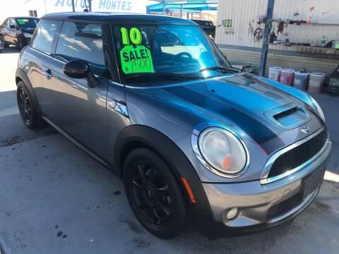 2010 MINI Cooper for sale at Autos Montes in Socorro TX