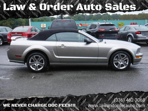 2008 Ford Mustang for sale at Law & Order Auto Sales in Pilot Mountain NC