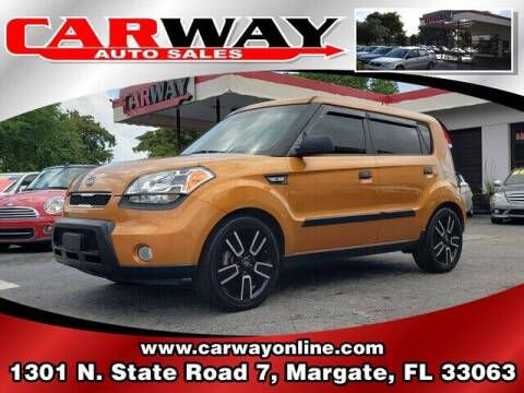 2010 Kia Soul for sale at CARWAY Auto Sales in Margate FL