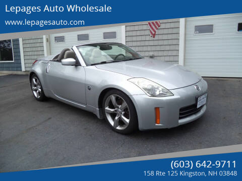 2007 Nissan 350Z for sale at Lepages Auto Wholesale in Kingston NH
