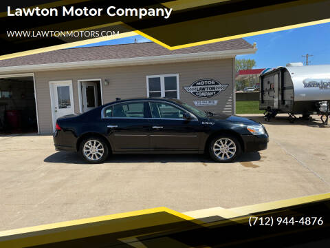 2011 Buick Lucerne for sale at Lawton Motor Company in Lawton IA