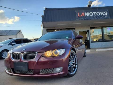 2007 BMW 3 Series for sale at LA Motors LLC in Denver CO