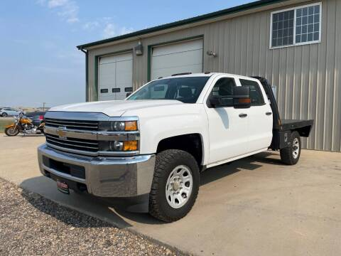 2017 Chevrolet Silverado 3500HD CC for sale at Northern Car Brokers in Belle Fourche SD