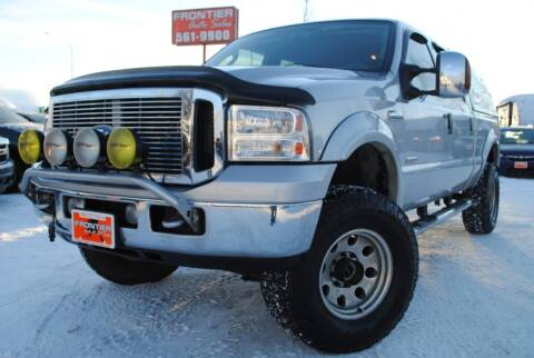 2007 Ford F-350 Super Duty for sale at Frontier Auto & RV Sales in Anchorage AK