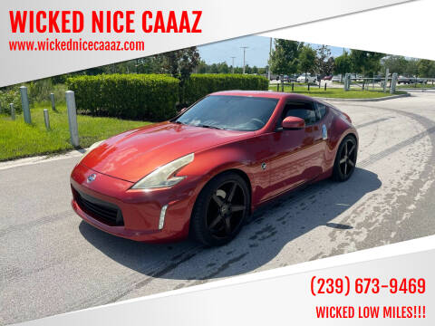 2013 Nissan 370Z for sale at WICKED NICE CAAAZ in Cape Coral FL