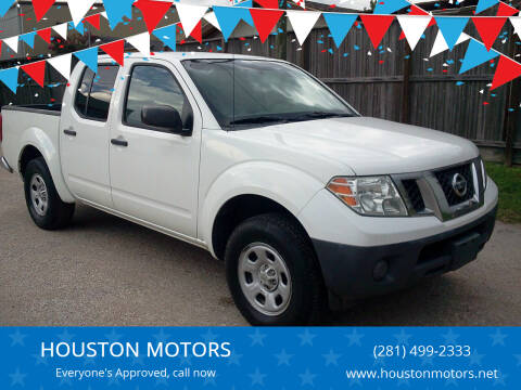 2012 Nissan Frontier for sale at HOUSTON MOTORS in Stafford TX