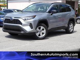 2019 Toyota RAV4 Hybrid for sale at Used Imports Auto - Southern Auto Imports in Stone Mountain GA