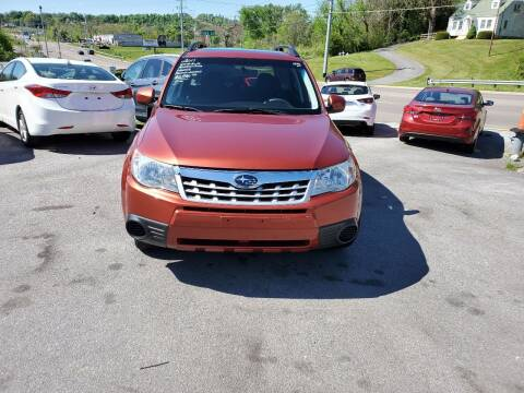 2011 Subaru Forester for sale at DISCOUNT AUTO SALES in Johnson City TN