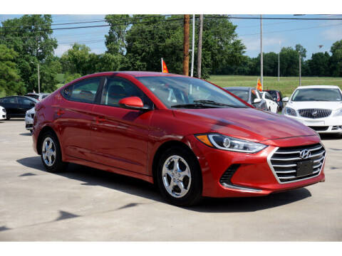 2017 Hyundai Elantra for sale at Sand Springs Auto Source in Sand Springs OK