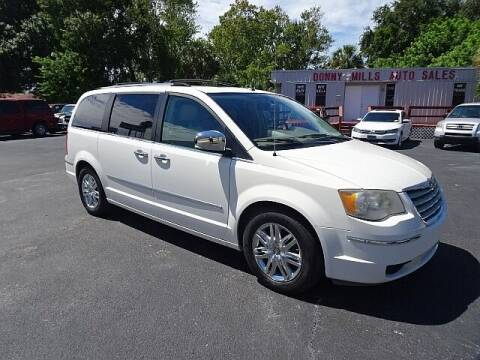 2009 Chrysler Town and Country for sale at DONNY MILLS AUTO SALES in Largo FL