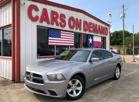 2013 Dodge Charger for sale at Cars On Demand 2 in Pasadena TX