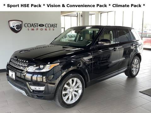2014 Land Rover Range Rover Sport for sale at Coast to Coast Imports in Fishers IN