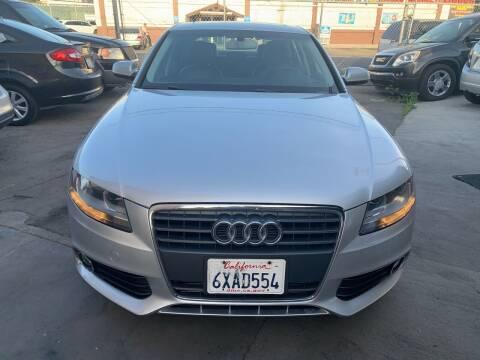 2012 Audi A4 for sale at Aria Auto Sales in El Cajon CA