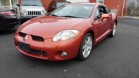 2006 Mitsubishi Eclipse for sale at J & T Auto Sales in Warwick RI