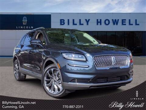 2021 Lincoln Nautilus for sale at BILLY HOWELL FORD LINCOLN in Cumming GA