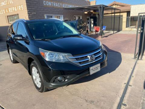 2014 Honda CR-V for sale at CONTRACT AUTOMOTIVE in Las Vegas NV