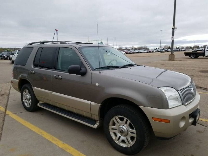 2004 Mercury Mountaineer for sale at Affordable 4 All Auto Sales in Elk River MN