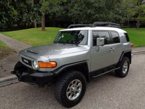 2011 Toyota FJ Cruiser for sale at Houston Auto Preowned in Houston TX