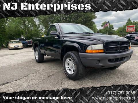 2003 Dodge Dakota for sale at NJ Enterprises in Indianapolis IN
