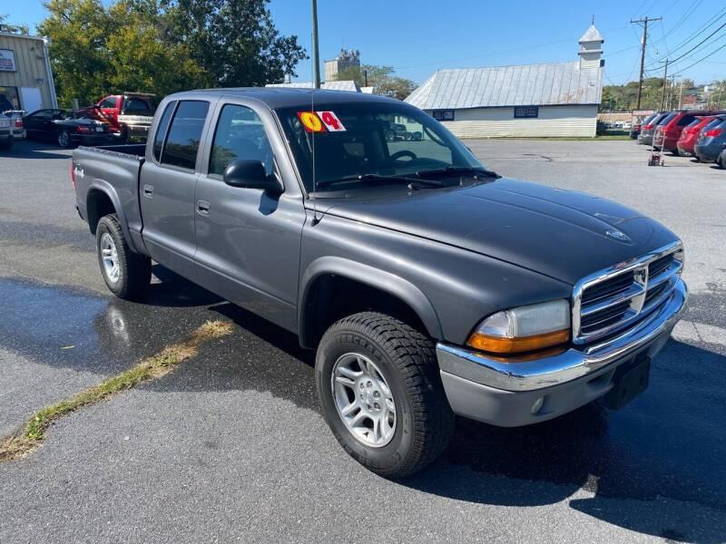 2004 Dodge Dakota for sale at Boris Auto Sales & Repairs in Harrisonburg VA