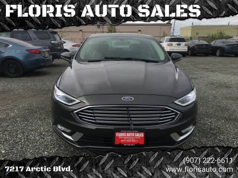 2018 Ford Fusion for sale at FLORIS AUTO SALES in Anchorage AK