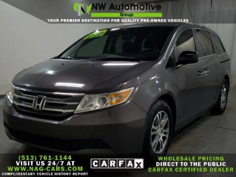 2013 Honda Odyssey for sale at NW Automotive Group in Cincinnati OH