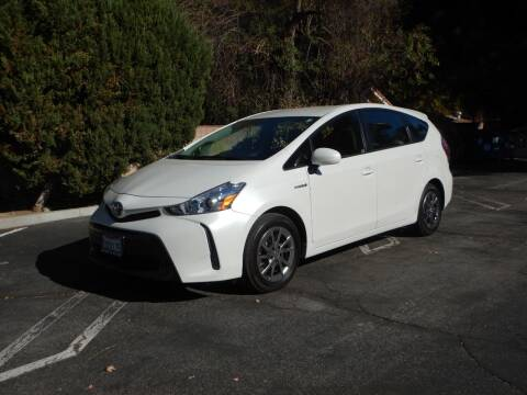 2017 Toyota Prius v for sale at California Cadillac & Collectibles in Los Angeles CA