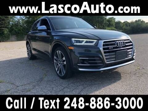 2018 Audi SQ5 for sale at Lasco of Waterford in Waterford MI