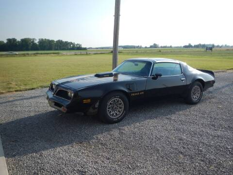 1977 Pontiac Trans Am for sale at Custom Rods and Muscle in Celina OH