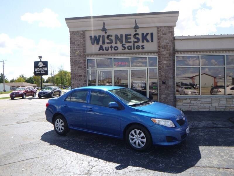 2010 Toyota Corolla for sale at Wisneski Auto Sales, Inc. in Green Bay WI