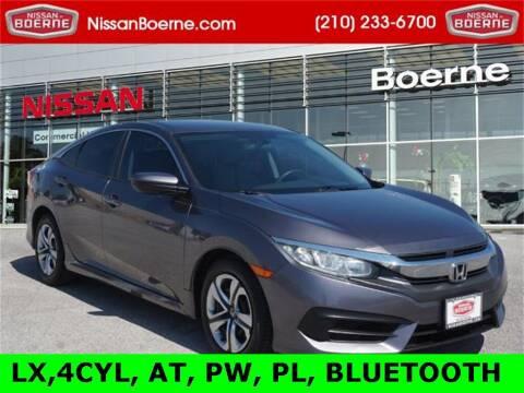 2016 Honda Civic for sale at Nissan of Boerne in Boerne TX