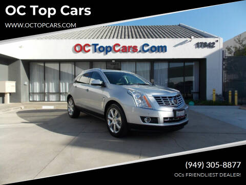 2013 Cadillac SRX for sale at OC Top Cars in Irvine CA